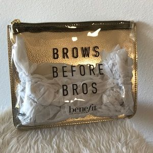 "Benefit ""Brows Before Bros"" Makeup Bag"